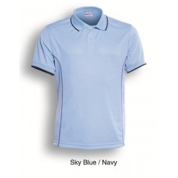 STITCH FEATURE ESSENTIALS-LADIES SHORT SLEEVE POLO - CP0920