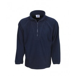 Half zipped polar fleece Jumper - F11