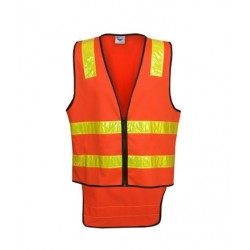 Vic Road Style D/N Vest with tail - V86