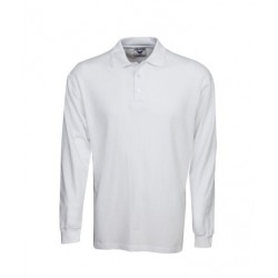 Long Sleeve Pre-shrunk Cotton Polo - P12