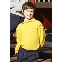 Kids L/S Basic Polo - CP1316
