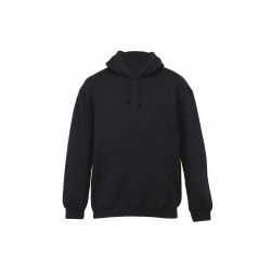 Youth Plain Hoodie Black - YHD