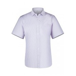 Mens Bayview Short Sleeve White/Pink - 1906S