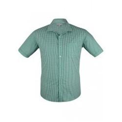Mens Epsom Short Sleeve Emerald - 1907S