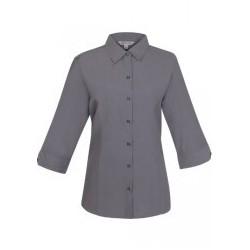 Ladies Belair 3/4 Sleeve Shirt Ash - 2905T