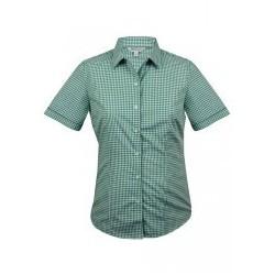 Ladies Epsom Short Sleeve Shirt Emerald - 2907S