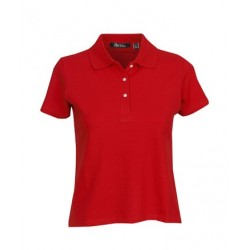 Ladies Cotton Lycra Polo shirt - P23