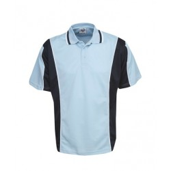 Cooldry Contrast Panel Polo, Children - P43K