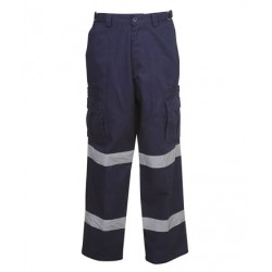 Cargo Trousers with Reflective Tape - W93