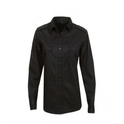 Modern Fit Cotton Military Shirt, Lady - B08