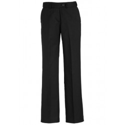 Ladies Adjustable Waist Pant Black - 10115