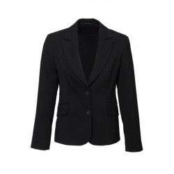 Ladies Short-Mid Length Jacket Black - 60111