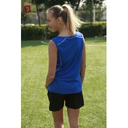 STITCH FEATURE ESSENTIALS--LADIES STITCH SINGLET - CT0927
