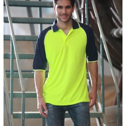 HI-VIS RAGLAN SLEEVE POLO - SP0543