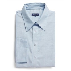 Oxford 3/4 Sleeve Blue - 1025WL