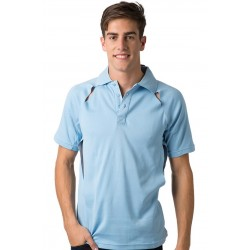 Mens Polo Shirt w. Contrasting Piping - BSP36