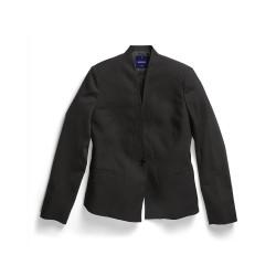 Ladies Crop Jacket Black - 1721WJ