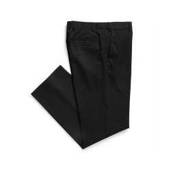 Men's Flat Front Pant Black - 1722MT