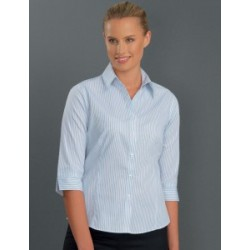 Womens 3/4 Sleeve Three Way Stripe - 112