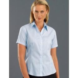 Womens Short Sleeve Three Way Stripe - 113