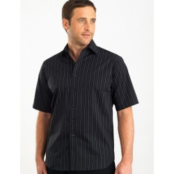 Men's Short Sleeve Fine Stripe - 207