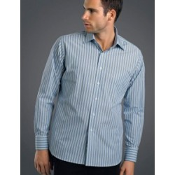 Mens Long Sleeve Fashion Stripe Lime - 422