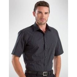 Mens Short Sleeve Dark Stripe - 453