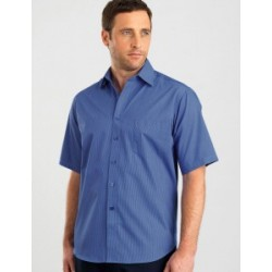 Mens Short Sleeve Tonal Stripe - 465