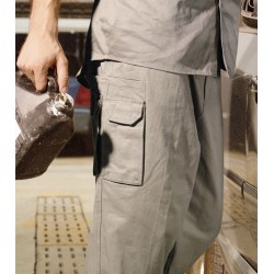 COTTON DRILL CARGO WORK PANTS - WK1235ST