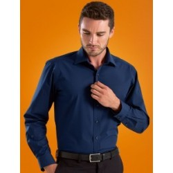Mens Stretch L/S Poplin - 602