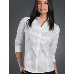 Womens 3/4 Sleeve Classic Stripe - 108