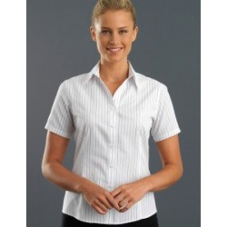 Womens Short Sleeve Classic Stripe - 109