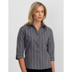 Womens 3/4 Sleeve Multi Stripe - 124