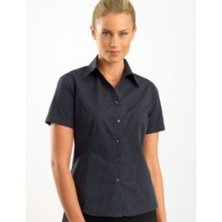 Womens Short Sleeve Dark Stripe - 137