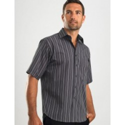 Mens Short Sleeve Multi Stripe - 225