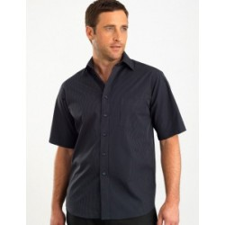 Mens Short Sleeve Dark Stripe - 237