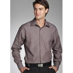 MODEL STRIPE - SEMI FIT MENS LONG SLEEVE SHIRT -3010L12