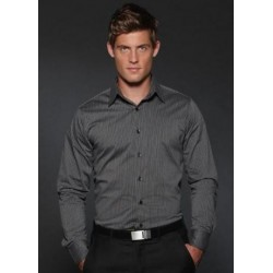 ARGENTO MENS SEMI FITTED LONG SLEEVE SHIRT - 3010L13