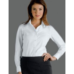 Womens Long Sleeve Oxford - 301