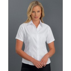 Womens Short Sleeve Oxford - 302
