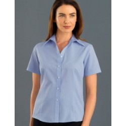 Womens Short Sleeve Soft Stripe - 337
