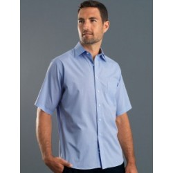 Mens Short Sleeve Soft Stripe - 437