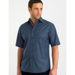 Mens Short Sleeve Bold Stripe - 443