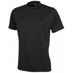 Mens Competitor S/S T-Shirt Black - 7013