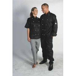 200gsm Polyester CottonTraditional Chef Jacket, S/S - 1101