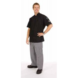 200gsm Polyester CottonThree Way Air Flow Lightweight Chef Jacke