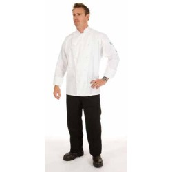 200gsm Polyester Cotton Three Way Air Flow Lightweight Chef Jack