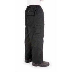 200gsm Polyester Cotton Drawstring Cargo Pants - 1506