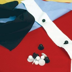 Buttons (10 per pack) for Chef Jacket - 1751