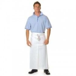 200gsm Polyester Cotton Continental Apron? No Pocket - 2412